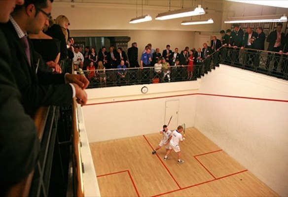 GVA & British Land triumph at the Newton Perkins Squash Tournament 2013