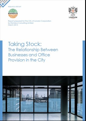 Taking Stock - The City's Office Space and Occupiers