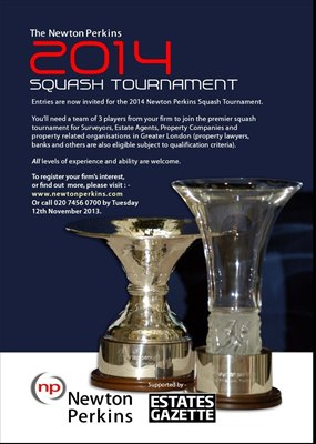 Newton Perkins Squash Tournament 2014
