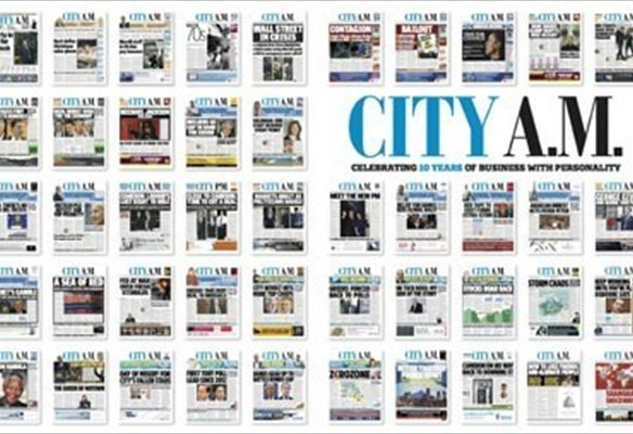 City A.M. Wakes Up to Second Decade