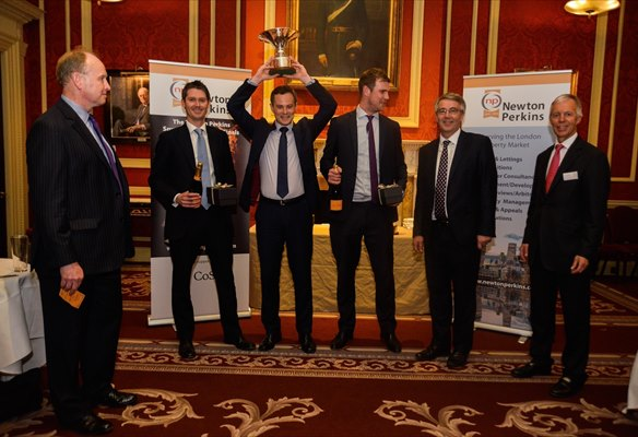 Triumphs for JLL & CBRE at 2016 Squash Finals evening