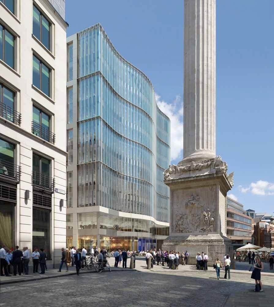 City of London Monument site bought by Skanska