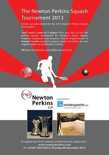 Newton Perkins Squash Tournament 2013 - Big Hitters Invited!