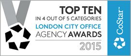 Costar Group Agency Awards 2015 - Top 5 for London City