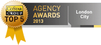 Costar Group Agency Awards 2013 - Top 5 for London City